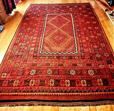 Vintage tribal rug, 9 x 15 in excellent condition