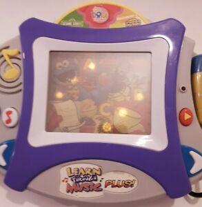 LEARN THROUGH MUSIC PLUS H7732 PLUS 1 CARTRIDGE, Sesame Street Dora Spongebob
