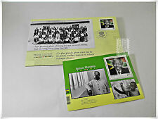 Canada 2015 Black History Month - Nelson Mandela Official FDC & Souvenir Sheet