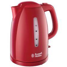 Russell Hobbs 21272-70 Wasserkocher rot Schnellkochfunktion 2400 Watt 1.7l