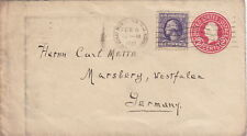 United State Cover Montclair 1922 Entier Postal >> Germany