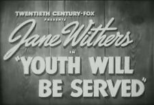 YOUTH WILL BE SERVED (1940) DVD JANE WITHERS, JANE DARWELL