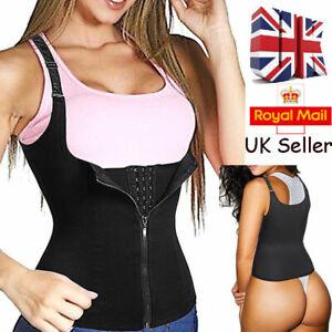 Slimming Body Shaper Thermo Suana Sweat Corset Waist Trainer Cincher Vest Belts
