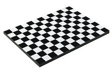 Diorama base Damiers noirs/Black checkerboard - 1/43ème - #43-1-AG-001