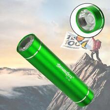CREE XM-L XPE LED 1AA Flashlight Torch 1200 Lumens Aluminum For Outdoor Green KJ