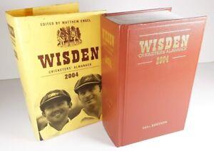 2004 Wisden Cricketers Almanack Hardback Book with Dust Jacket 141st Edition