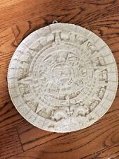 Aztec Xiuhpohualli Tonalpohualli Mesoamerican Maya Mayan Calendar Wall Plaque