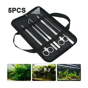 5X Aquarium Fish Tank Maintenance aquascaping Tool Water Plants Algae Cleaner
