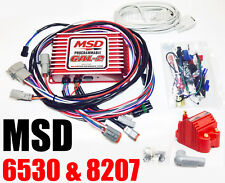 MSD 6530 Ignition Box MSD 6AL-2 Digital CD Programmable Rev Limiter W/ 8207 coil