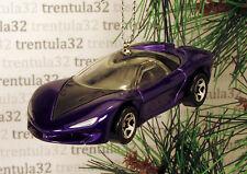 PONTIAC BANSHEE CONCEPT CAR DARK BLUE/PURPLE BLACK CHRISTMAS TREE ORNAMENT XMAS