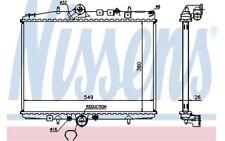 NISSENS Radiador, refrigeración del motor CITROEN C5 PEUGEOT 607 61295A