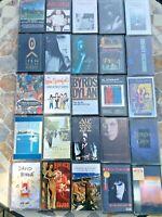 Job Lot 25 Rock Pop Album Cassette Tape Bundle Al Stewart Howard Jones Lennon