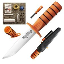 "Cold Steel 80PH Survival Kit w/9.25"" Fixed Knife & Compass"