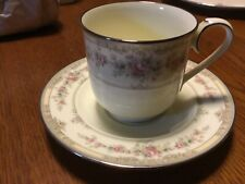 NORITAKE Bone China SHENANDOAH 9729 TEA COFFEE Cup & Saucer dishes MINT