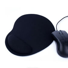 Economic Thin Wrist Support Cloth Mouse Pad Mice Mat for Computer - Black y1