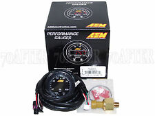 AEM 30-0301 X-Series Electronic 100PSI/7BAR Fuel Pressure Gauge Meter