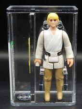 AFA 75 vintage Star Wars LUKE SKYWALKER Kenner figure 1977 first 12 dark pants !