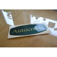 Autocruise - (RESIN DOMED) - Motorhome Sticker Decal Graphic (160mm) - SINGLE