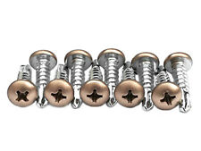 10 Gold Lacrosse Head Screws Brand New with Free Shipping