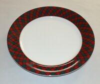 Arita Tartan Plaid Round Platter 4030932 ( NEW OTHER)