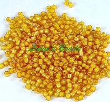 ALSB31 CZECH 11//0 Seed Beads-Transparent ORANGE Hank