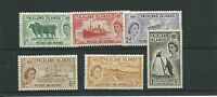 Falkland Islands 1955-57 set to 1/- SG187-92 fine mtd mint.