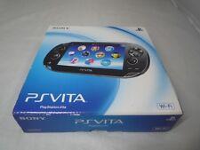 New PlayStation Ps Vita Console Wi-Fi Model Crystal Black Pch-1000 Za01 Japan