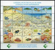 Palau: 1990 Lagoon Life Mini-Sheet (246) MNH