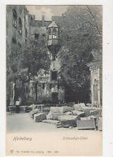 Heidelberg Schlosshof Erker Germany Vintage U/B Postcard 884a