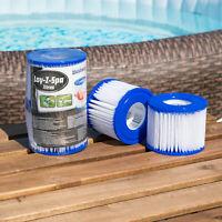 Foam Lazy Filter Washable UK VI Easytubs Hot Tub Spa Filters 4 Pack