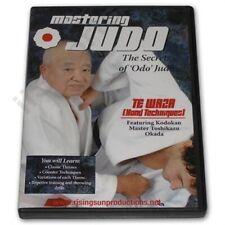 Okada Mastering Judo #2 Te Waza Hand Techniques Dvd Oda mma grappling bjj nhb
