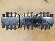 Potter & Brumfield  P30P47A12P1-120  120V Coil  Contactor  (3) in LOT