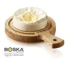 Boska AMICI piccola rotonda legno quercia in legno formaggio servire Board
