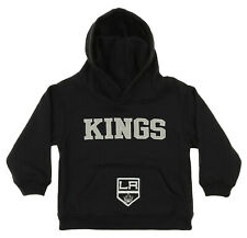 OuterStuff NHL Infant and Toddler's Los Angeles Kings Fleece Hoodie, Black