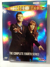 Doctor Who: The Complete Fourth Series (DVD)Ships FIRST CLASS! Dr. Who Season 4