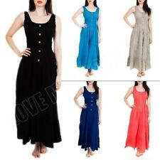 100% Cotton Casual Maxi Dresses for Women