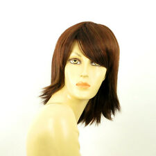 mid length wig brown copper wick light blond and red: KAREN 33H PERUK