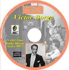Victor Borge CD 33 OTR Comedy Old Time Radio Episodes Audio MP3