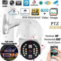 1080P WIFI IP Security Camera Smart Wireless Outdoor CCTV Home HD IR Cam 20 LEDs