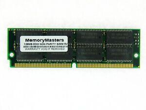 128MB EDO MEMORY NON-PARITY 60NS SIMM 72-PIN 5V 32X32 TSOP OR SOJ Modules 72P