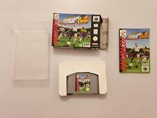 International Superstar Soccer 64 Nintendo 64  pal España COMPLETO+ regalo LEER