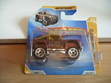 Hotwheels Custom Ford Bronco in Brown on Blister