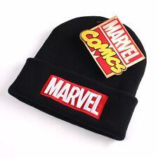 MARVEL - LOGO - BEANIE HAT - BLACK