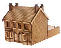 HS013 Victorian Double Bay Window Terraced Houses  OO Gauge Laser Cut Kit