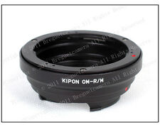 Kipon Olympus OM to Leica M 240 M240 Ricoh GXR A12 mount adapter RF uncoupled