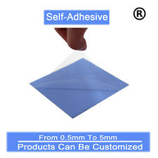 100mm*100mm*1.5mm Self-adhesive heatsink Silicone Thermal Pad  For Laptop Repair