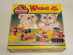 Rare Wickets The Ewok Playset Vintage Play-Doh 1980 Star Wars  Kenner