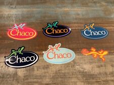 6 Chaco Stickers Lizard Logo Pink Blue Orange Black Awesome Stickers!