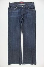 James Jeans Low Rise Straight Cut Dry Aged Denim Jeans Size 28/6