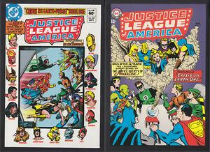 2 Postkarten, Vintage-Cover DC-SUPERHELDEN, Justice League of America # 30
